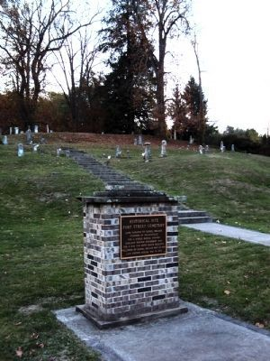 Fort Street Cemetery Marker image. Click for full size.
