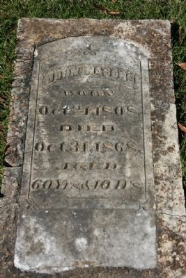 Grave of John Nabors image. Click for full size.