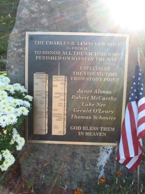 Stony Point 9-11 Memorial image. Click for full size.