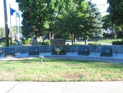 Stony Point Veterans Monument image. Click for full size.