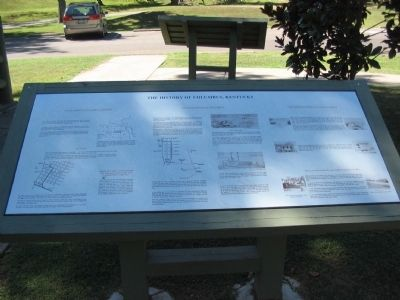 The History of Columbus, Kentucky Marker image. Click for full size.