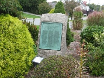 Yorktown World War I Monument image. Click for full size.
