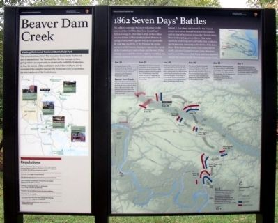 Beaver Dam Creek Marker image. Click for full size.