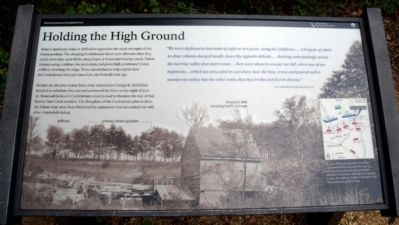 Holding the High Ground Marker image. Click for full size.