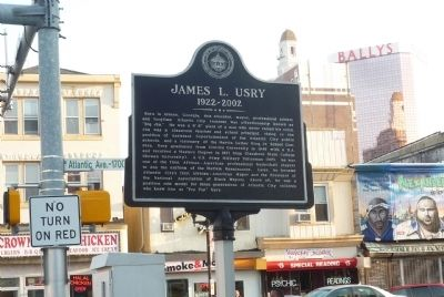 James L. Usry Marker image. Click for full size.