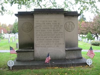 Burial Place Monument image. Click for full size.