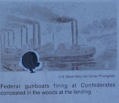 Federal Gunboats image. Click for full size.