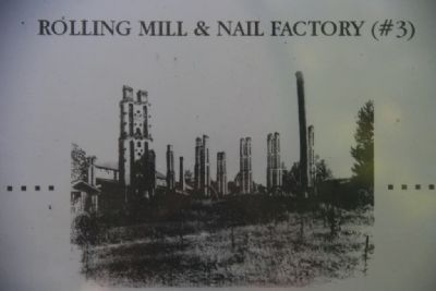 Ruins of the Rolling Mill and Nail Factory image. Click for full size.