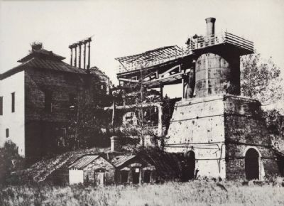 Bibb Furnace Circa 1905 image. Click for full size.