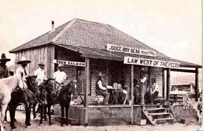 Law West of the Pecos image. Click for full size.