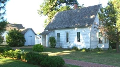 Harry S. Truman Birthplace (rear) image. Click for full size.