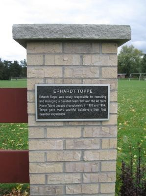 Erhardt Toppe Marker image. Click for full size.