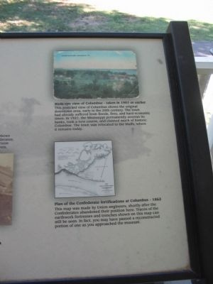 Illustration and Map on the Right Side of the Marker image. Click for full size.