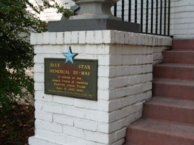 Blue Star Memorial By-Way – Left Side image. Click for full size.