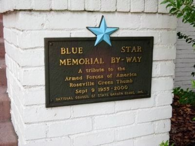 Blue Star Memorial By-Way – Right Side image. Click for full size.