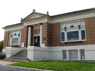 Roseville Carnegie Library image. Click for full size.