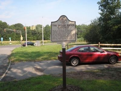 The Silver Brook Gateway Marker image. Click for full size.