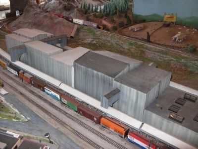 Pacific Fruit Express Ice-Making Facility Model image. Click for full size.