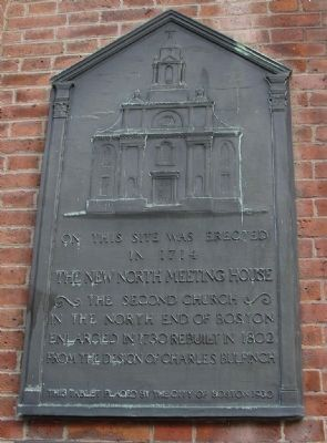 St. Stephen's Church Marker Panel 2 image. Click for full size.