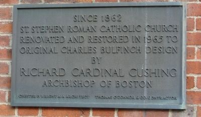St. Stephen's Church Marker Panel 3 image. Click for full size.