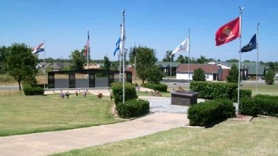 Veterans Memorial of Timeless Honor image. Click for full size.
