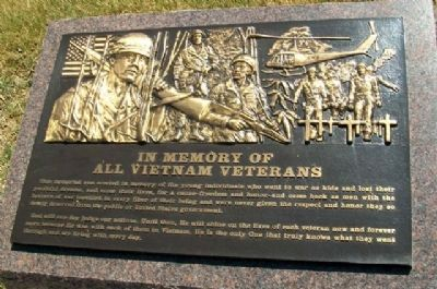 Veterans Memorial of Timeless Honor Vietnam image. Click for full size.