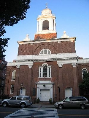 St. Stephen's Church, Boston image. Click for full size.
