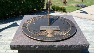 Veterans Memorial of Timeless Honor Sundial image. Click for full size.
