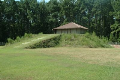 The Burial Mound at Town Creek image. Click for full size.