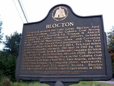 Blocton Marker image. Click for full size.