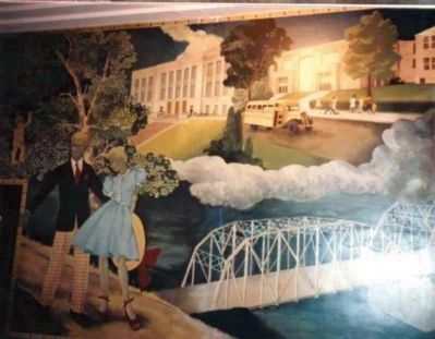 One of the many Courthouse Murals - by  Local Artists image. Click for full size.
