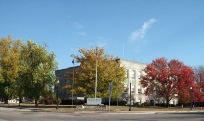 South / West Corner - - Fountain County Courthouse image. Click for full size.