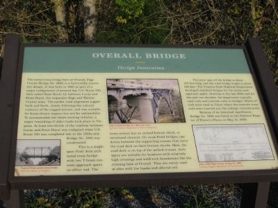 Overall Bridge Marker image. Click for full size.