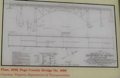 Engineering Plan of the Bridge image. Click for full size.