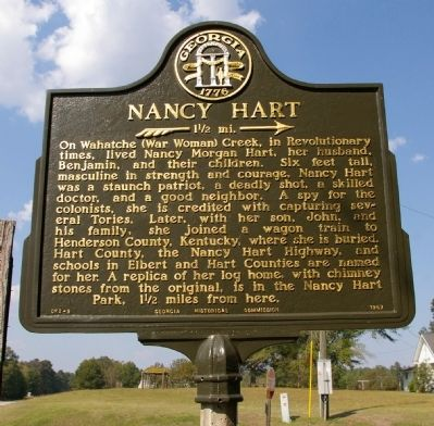 Nancy Hart Marker image. Click for full size.