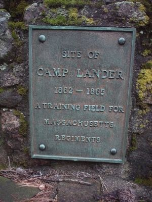 Site of Camp Lander Marker image. Click for full size.