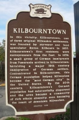 Original Kilbourntown Marker image. Click for full size.