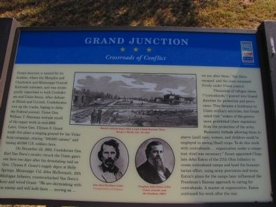 Grand Junction Marker image. Click for full size.