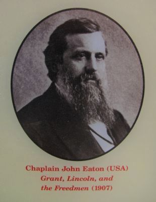 Chaplain John Eaton image. Click for full size.