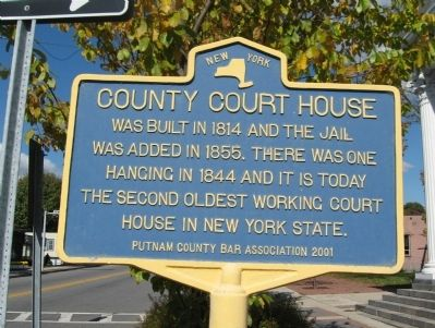 County Court House Marker image. Click for full size.