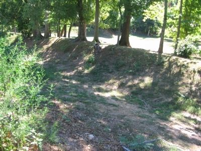 Confederate Trenches image. Click for full size.