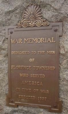 War Memorial Marker - Side 2 image. Click for full size.