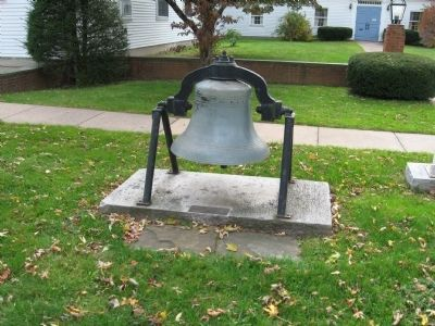 Terryville Congregational Church Bell image. Click for full size.