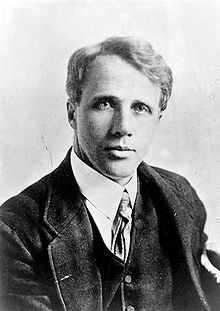 Robert Frost image. Click for full size.