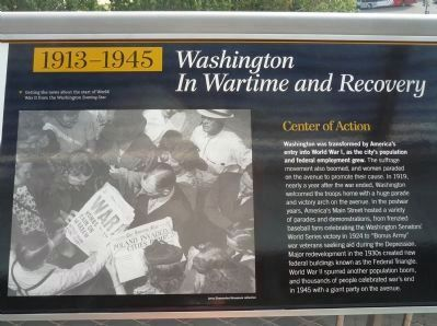 Pennsylvania Avenue Marker Panel 5 image. Click for full size.