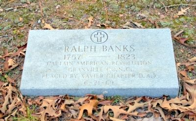 Grave of Ralph Banks image. Click for full size.