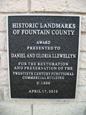 Twentieth Century Functional Commercial Building Marker image. Click for full size.