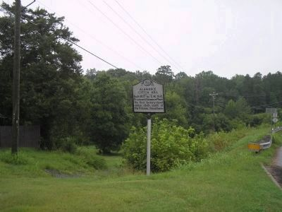 Alamance Cotton Mill Marker image. Click for full size.