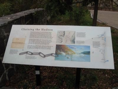 Chaining the Hudson Marker image. Click for full size.