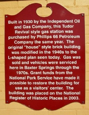 Phillips 66 Petroleum Company Gas Station Marker image. Click for full size.